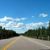 Строительство одной из наиболее больших в области дорог