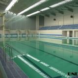 Заканчивается строительство крытого катка и новых бассейнов в НСО